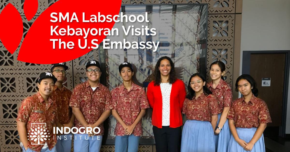 SMA Labschool Kebayoran Visits the U.S Embassy